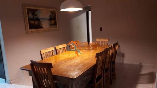 Imagem 1 de 30 de Casa Com 3 Dormitórios À Venda, 140 M² Por R$ 680.000,00 - Jardim Santa Cecília - Guarulhos/sp - Ca0519