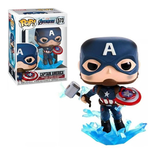 Funko Pop Marvel 573 Capitan America Whit Broken Shield