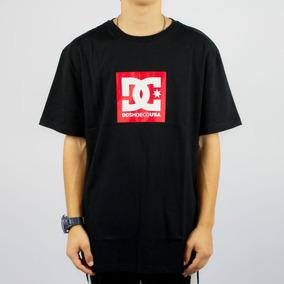 4fd7a9530373b Camiseta Dc Shoes Vermelha - Calçados, Roupas e Bolsas com o ...