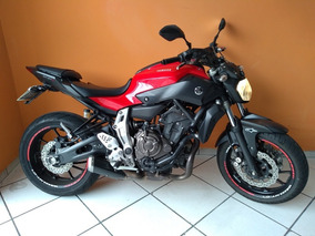 Yamaha Mt 07 2016 Vermelha
