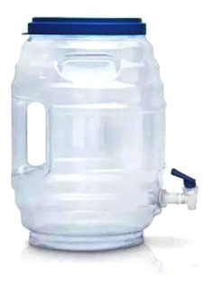 Dispensador Agua Fresca Vitrolero Fiesta Despachador 19 Lts