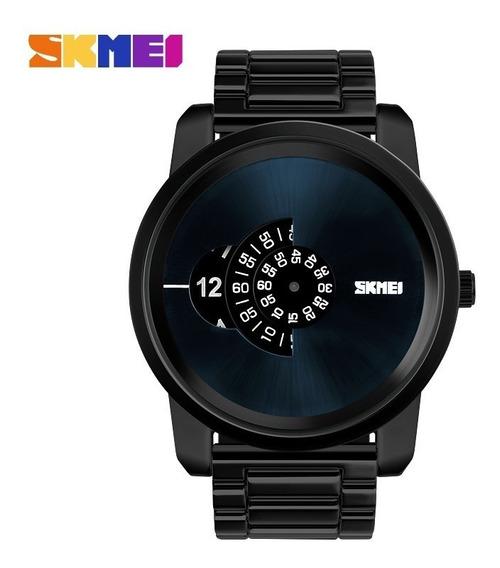 Relógio Skmei 1171 Preto Luxo Pronta Entrega + Brinde