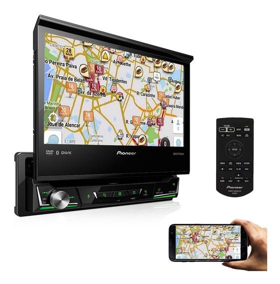 Dvd Player Pioneer Retratil Avh-z7180tv Bluetooth Tv Tela 7