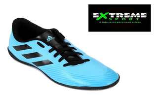 Chuteira Futsal adidas Artilheira Iii In - Azul Claro/preto
