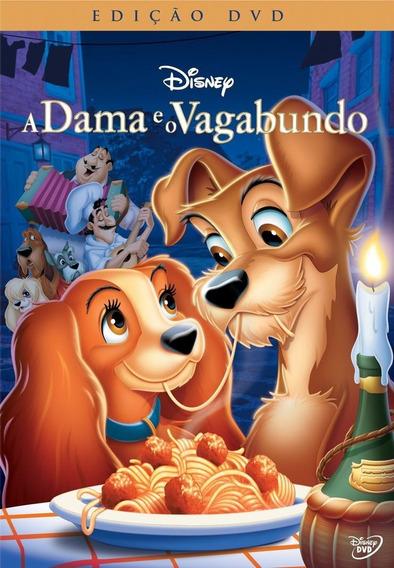 A Dama E O Vagabundo - Dvd - Disney - Novo