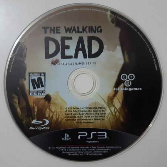 The Walking Dead - Ps3 Mídia Física - Somente O Disco