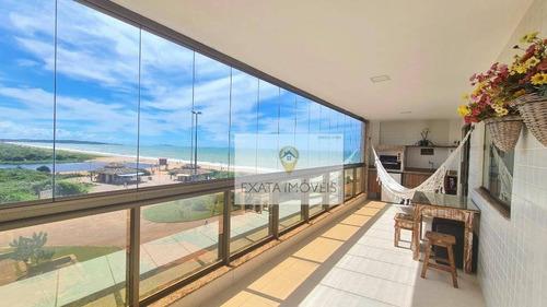 Apartamento Com Vista Para O Mar, Ouro Verde/ Praia De Costazul! - Ap0510