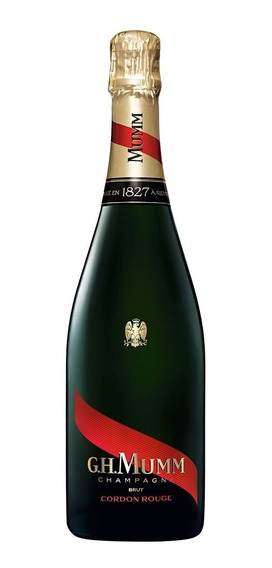 Mumm Cordon Rouge Champagne Francés Brut Botella De 750 Ml
