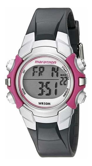 Relógio Timex Marathon Indiglo Original Feminino Promoção