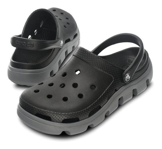 Crocs Duet Sport Clog -black Charcoal