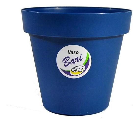 Vaso Bari Azul Cobalt - 20 X 17,2 Fg Import