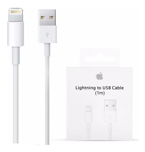 Cable Usb iPhone Lightning Apple 100% Original Importado Usa