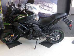 Motocicleta Kawasaki Versys 650 2017 6100km Negra