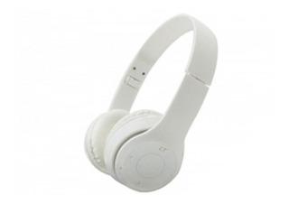 Netmak Auricular Vincha Plegable Bluetooth Blanco Nm-palm-p
