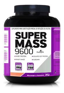 Super Mass 9600 3kg 26 Gramas Proteínas - Sports Nutrition