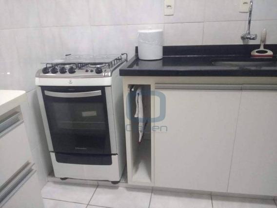 Apartamento Com 1 Dormitório À Venda, 60 M² Por R$ 240.000 - Centro - Campinas/sp - Ap0885