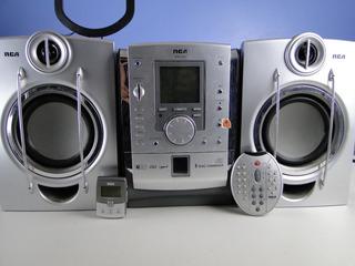 Mini Componente Rca Con Usb Y Auxiliar