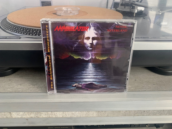Annihilator - Never Neverland - Cd Importado