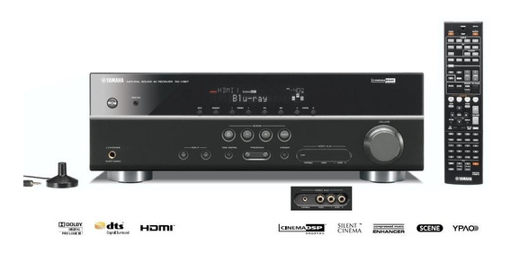 Yamaha Receiver 5.1 Rx-v367 Home Theather