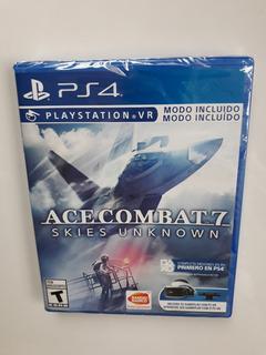 Ace Combat 7 Skies Unknown Juego Aviones Ps4 Nuevo Y Sellado