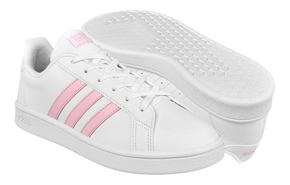 Tenis adidas Grand Court Base Blanco Ee7480