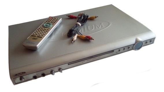 Dvd Premium C/control Remoto Y Cables Rca (15vrds) Myp