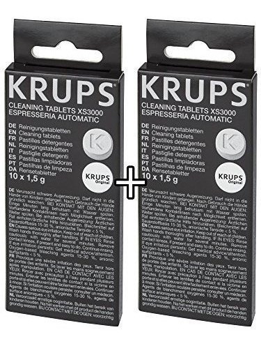 Krups Xs3000 Tabletas De Limpieza Para Máquinas Krups