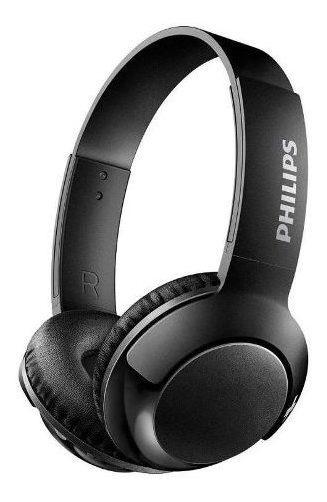 Fone De Ouvido Philips Bass+ Shb3075bk - Bluetooth, Preto