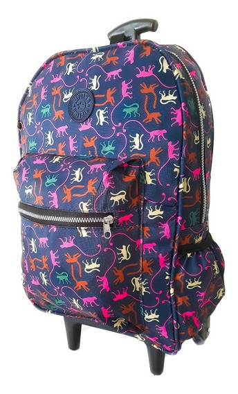 Mochila G Com Rodas Adulto Juvenil Notebook Universitária