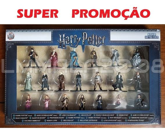 Coleção 20 Boneco Jadametalfig Xmen Batman Aqua Harry Potter