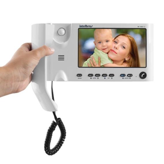 Video Porteiro Intelbras Iv 7010hs Com Monofone Lcd Tela 7