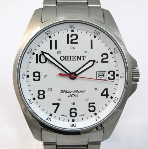 Relógio Orient Masculino Aço Inox Classico Mbss1171 S2sx