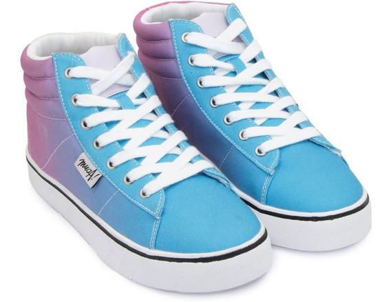 Zapatilla Mujer Teen Tela Lona Muaa Mima Multicolor