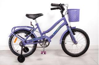 Bicicleta Rodado 16 Paseo Full Bb Exc Calidad Envios Gratis!