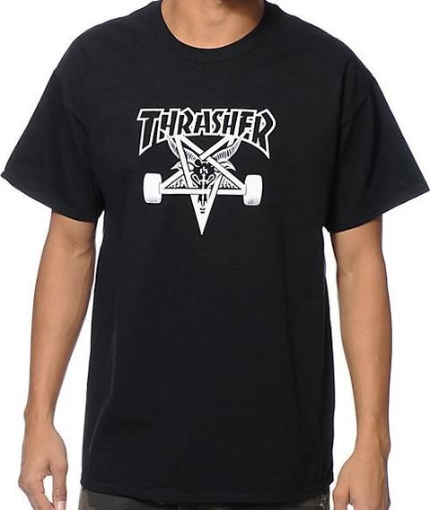 Remera Thrasher 100% Original Skate Goat Nuevo Modelo