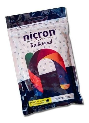 Porcelana Fría Nicron Tradicional 500 G