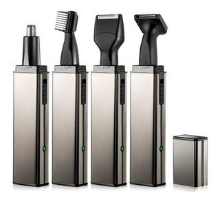 Maquina Afeitadora Electrica 4 En 1 Barba Nariz Oido Cejas