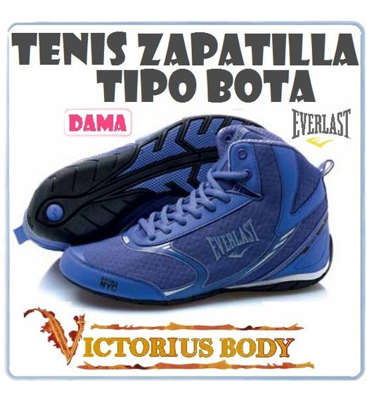 Tenis Zapatilla Everlast Mujer Fitness Bota Corre Gimnasio