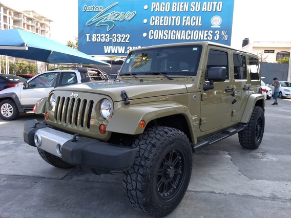 Jeep Wrangler Unlimited Sahara 4x4 2013