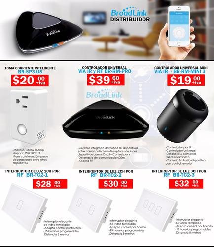 Interruptor Wifi Lluces Broadlink Rm Pro Domotica Guayaquil