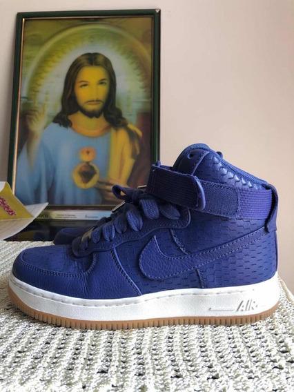 Tênis Nike Air Force Azul, Original.