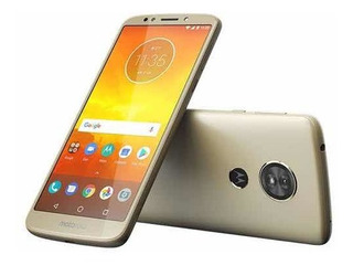 Motorola E5 Dorado Telcel Liberado De Fábrica
