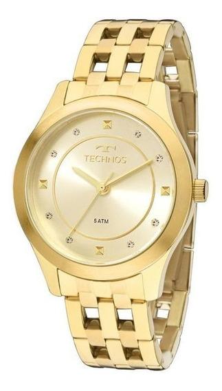 Relógio Feminino Technos Dourado 2036mfb/4x
