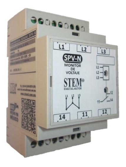 Monitor De Voltaje Spvn Stem;para Bomba Sumergible, Alim 440