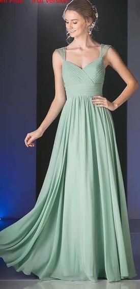 Vestido Verde Menta , Cinderella Divine . Talla 6 Y 14