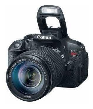 Câmera Canon T5i+lente 18-55mm+acessórios