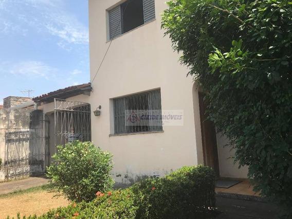 Casa Tipo Sobrado, 2 Quadra Atras Do Hospital Jardim Cuiaba - Ca1202