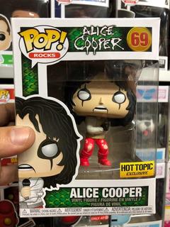 Funko Pop Rocks Alice Cooper Exclusivo #69 Hot Topic