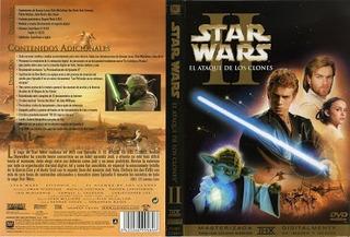 Dvd Star Wars Episodio Ii El Ataque De Los Clones. 2 Discos