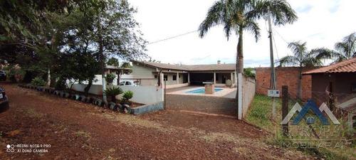 Imagem 1 de 30 de Chácara Com 2 Dormitórios À Venda, 1000 M² Por R$ 450.000,00 - Zona Rural - Londrina/pr - Ch0190